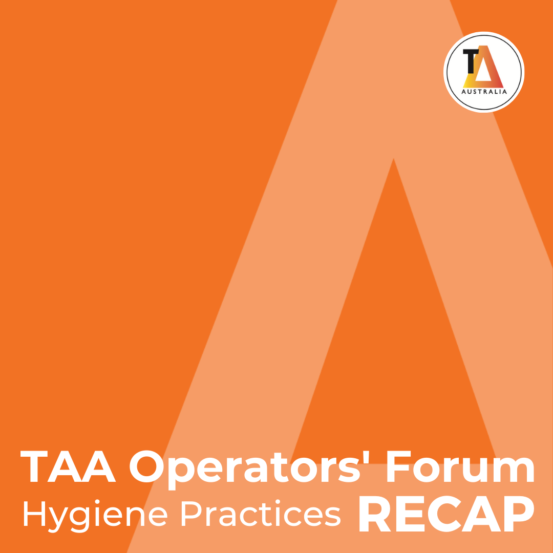 TAA Operators' Forum Hygiene Practices