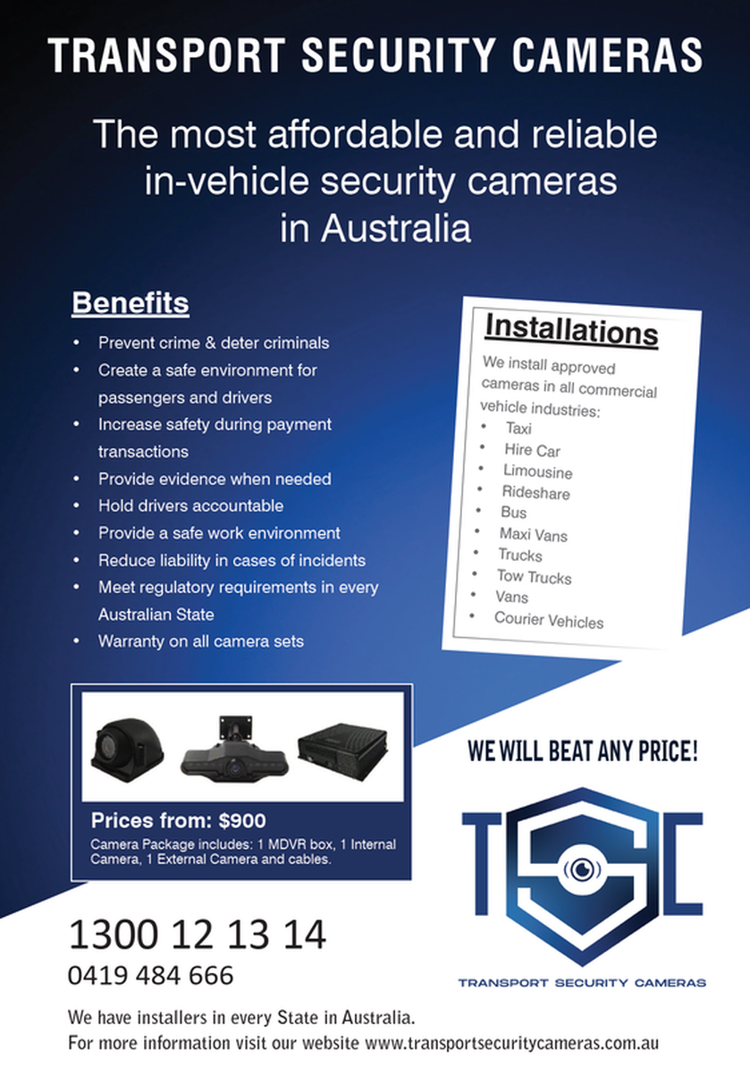 Transport Security Cameras