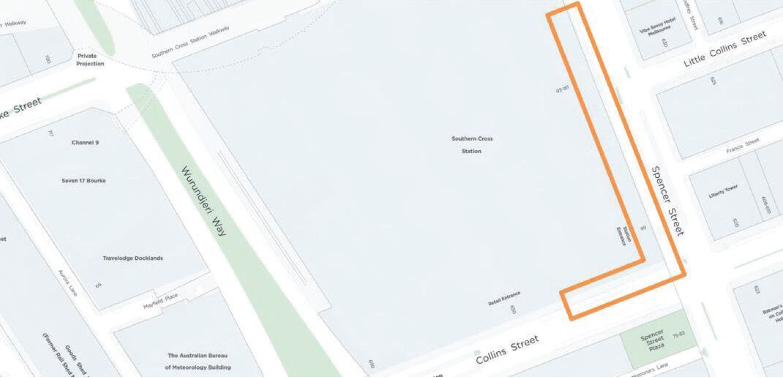 Location of Security Upgrades – Southern Cross