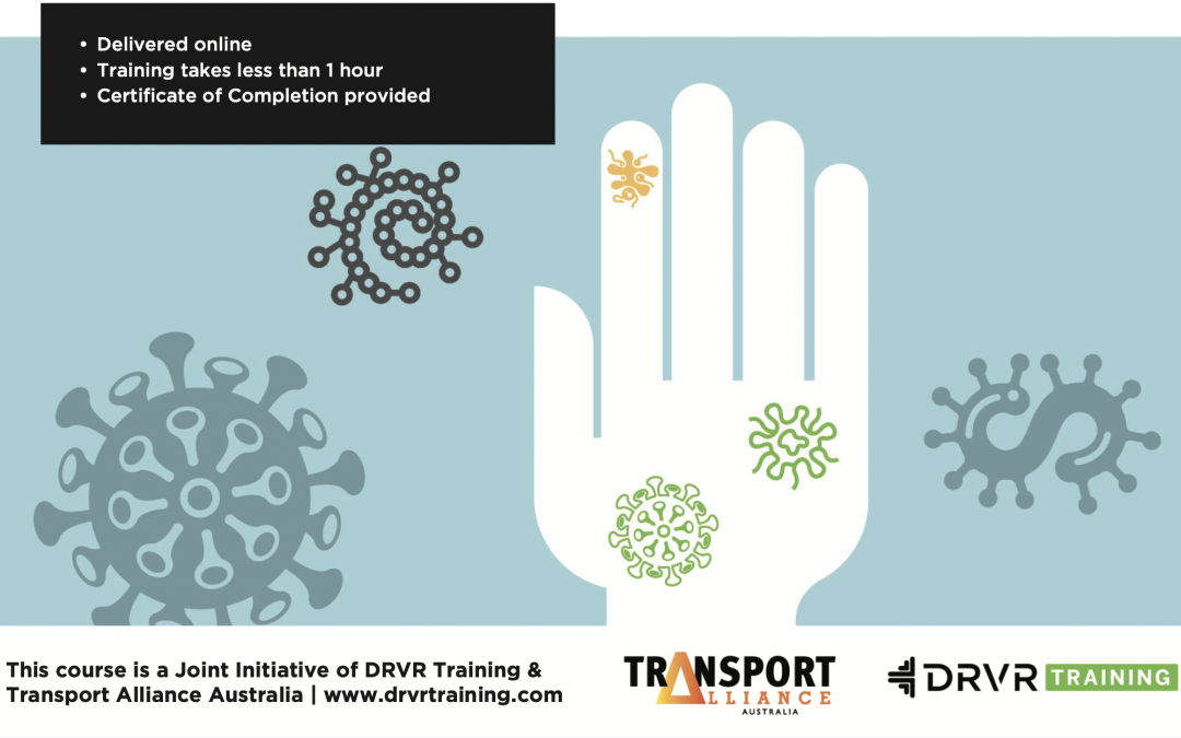 Hygiene Qualification Training by Transport Alliance Australia & DRVR